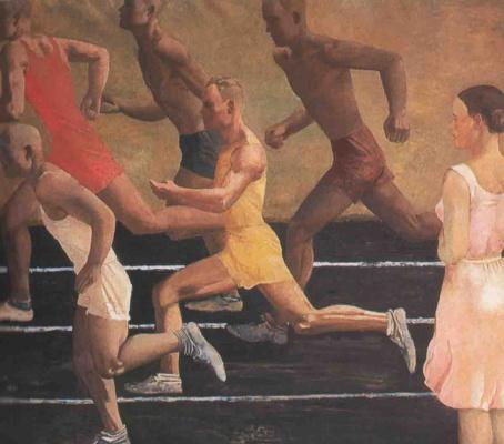 Alexander Alexandrovich Deineka. Runners