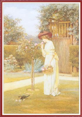 Чарльз Эдвард Уилсон. Розовый сад
