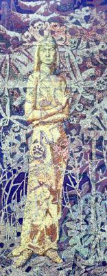 Алексей Петрович Акиндинов. The Snow Queen. Portrait of the artist's wife - Elena.