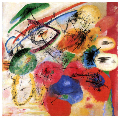 Wassily Kandinsky. Black lines