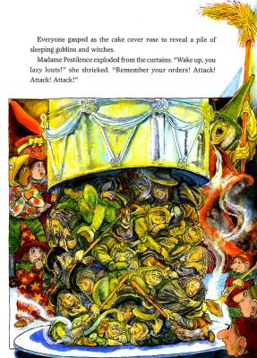 Стивен Келлог. Рождественская ведьма 10
