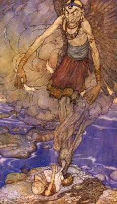Эдмунд Дюлак. Сказка о рыбаке и история царя Черных островов