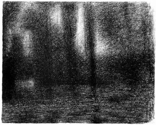 Georges Seurat. Poplar