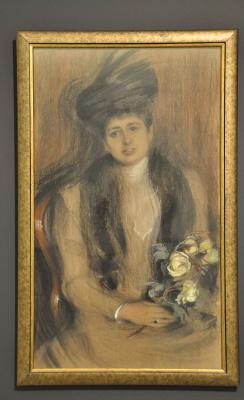 Елена Андреевна Киселева. Портрет Александры Шварц, 1900-е