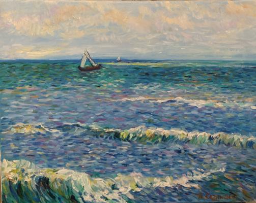 Александр Владимирович Казанцев. Sea
