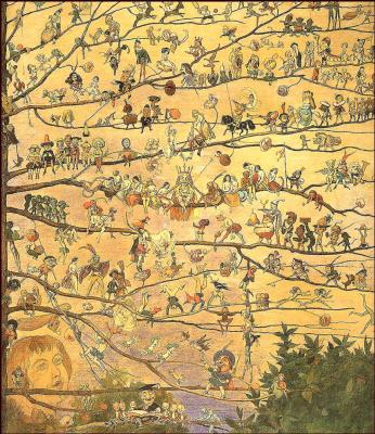 Ричард Дойл. Дерево