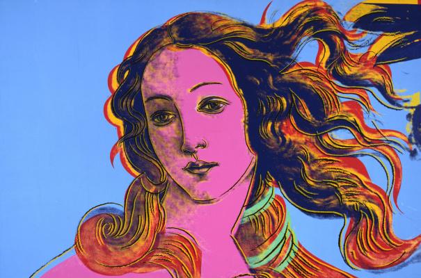 Andy Warhol. Sandro Botticelli, Birth Of Venus, 1482