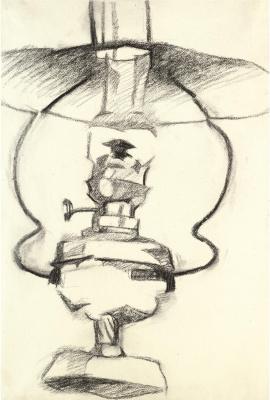 Juan Gris. Kerosene lamp