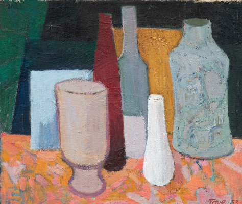 Tove Jansson. Still Life with Vases