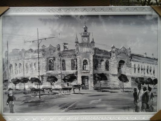 Сергей Бурлаку. Старый город