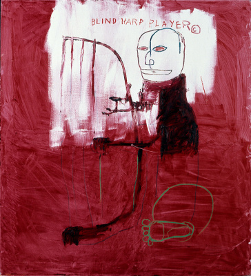 Jean-Michel Basquiat. Deaf