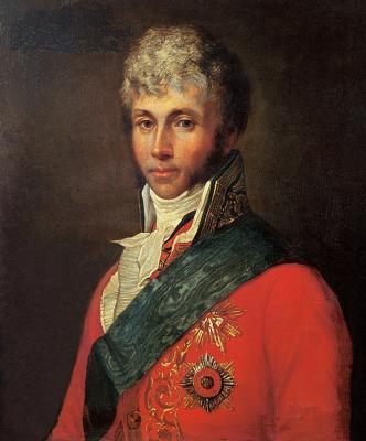 Alexander Grigorievich Varnek. Portrait of Count S. O. Potocki. Research Museum of the Russian Academy of Arts, St. Petersburg
