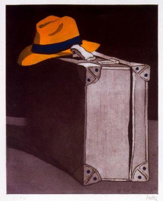 Эдуардо Уркуло Фернандес. Чемодан и шляпа