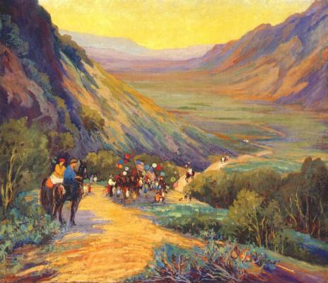 Джесси Бентон Эванс. Пустыня
