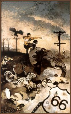 Джон Ван Флот. Животные и человек