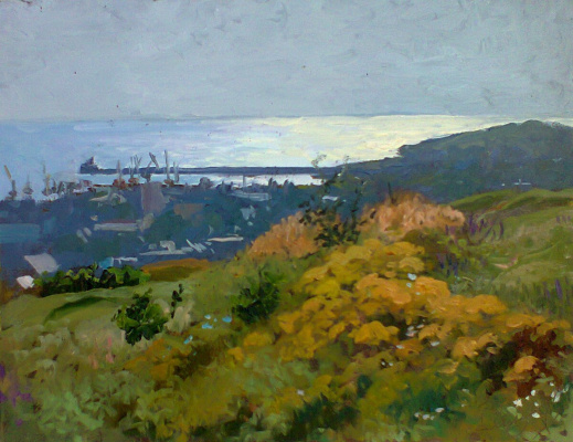 "Igor Semelin. ""morning over the bay"""