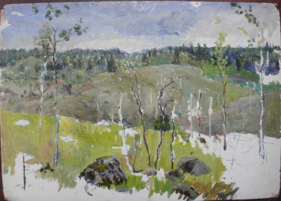 Nina Vasilievna Sedova. Boulders