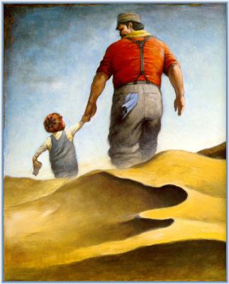 Дэвид Шеннон. Отец и сын