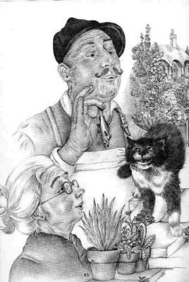 Адриенн Сегур. Говорящий кот