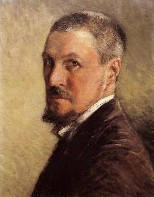 Gustave Caillebotte. Self-portrait