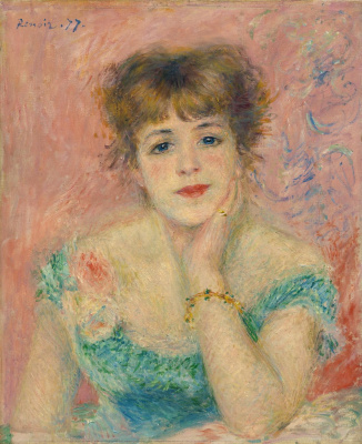 Pierre-Auguste Renoir. Portrait of Jeanne Samary