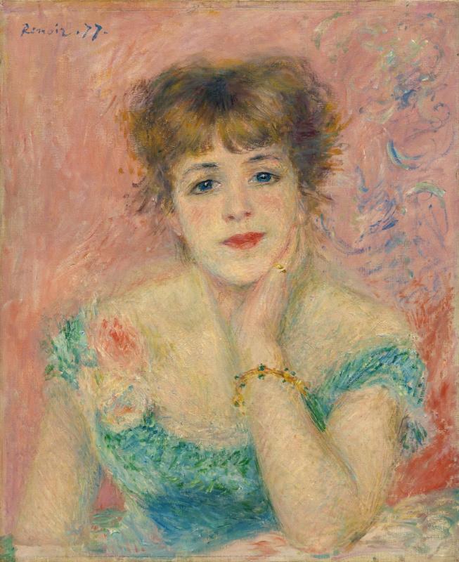 Pierre-Auguste Renoir. Portrait of Jeanne Samary