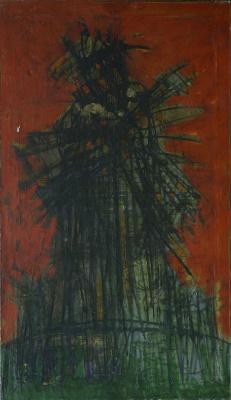 Matvey Weissberg. Don Quixote - a mill