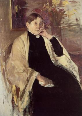 Mary Cassatt. Katharine Nelson Johnson Casset