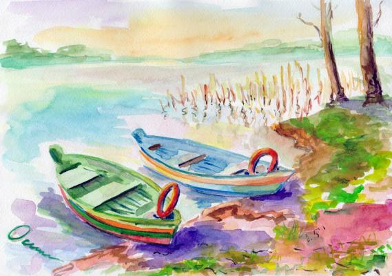 Екатерина Викторовна Митрофанова. Boats, Lithuania