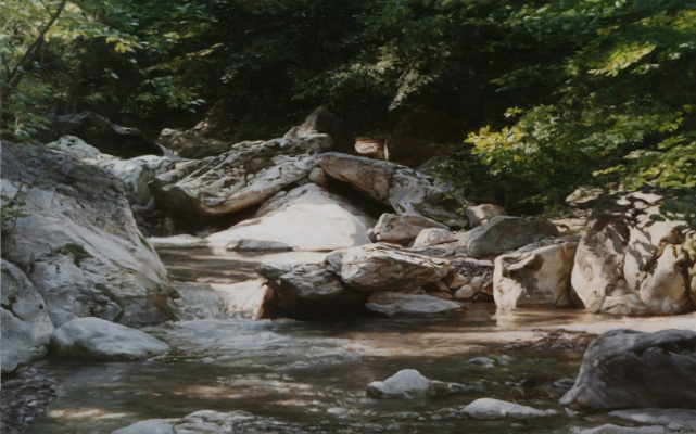 Gennady Ulybin. Creek