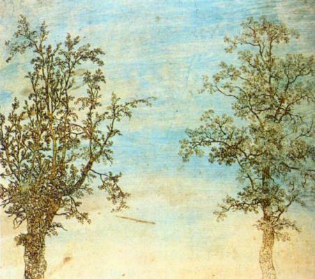 Геркулес Сегерс. Два дерева
