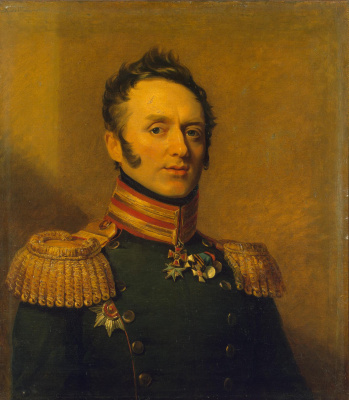 George Dow. Portrait Of Ivan Fyodorovich Udoma