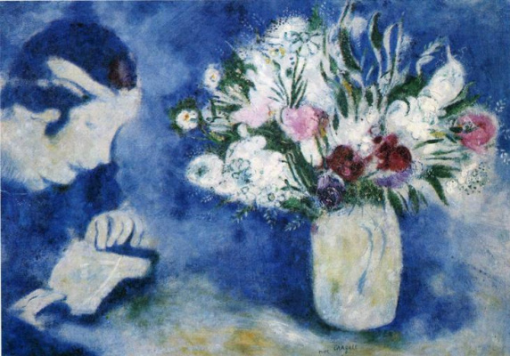 Marc Chagall. Bella in Murine