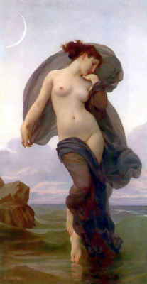 William-Adolphe Bouguereau. The evening