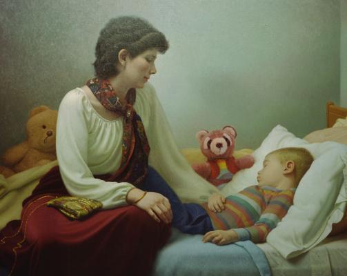 Стивен Гджертсон. Женщина с ребенком