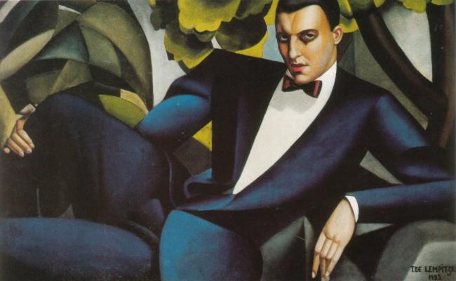 Tamara Lempicka. Portrait of the Marquis d Afflito
