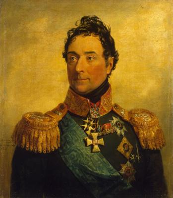 George Dow. Portrait of Alexander Fedorovich Lanzherona