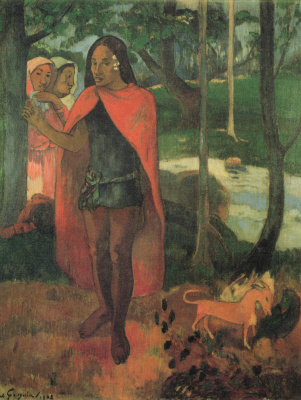 Paul Gauguin. With the sorcerer of Hiva OA