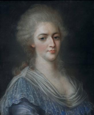 Elizabeth Vigee Le Brun. Portrait Of Marie-Antoinette