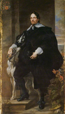 Anthony van Dyck. Portrait of Philippe de RAE