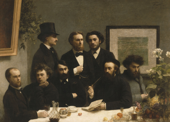 Henri Fantin-Latour. The corner of the table