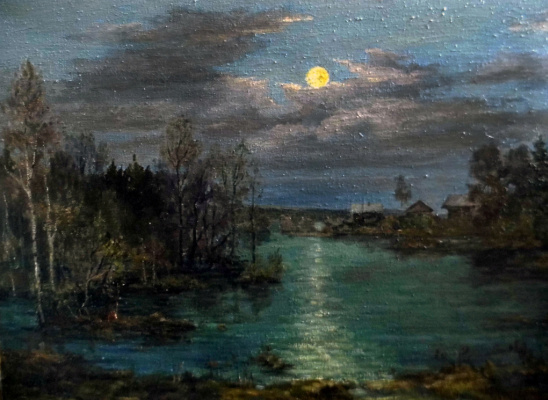 Victor Vladimirovich Kuryanov. The hour of the moon