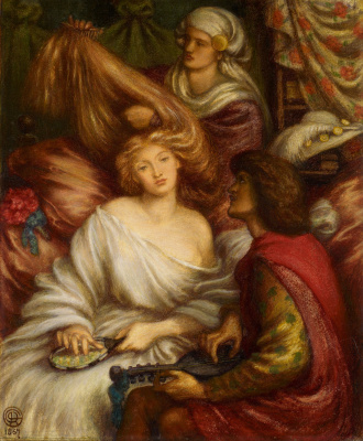 Dante Gabriel Rossetti. Morning music II
