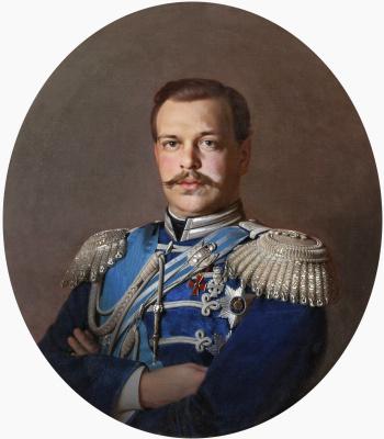 Сергей Константинович Зарянко. Портрет царя Александра III