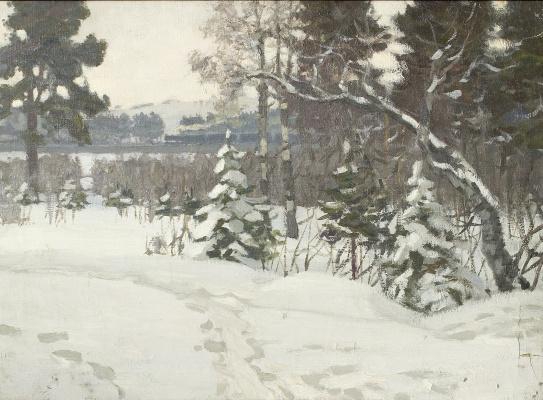 Владимир Иосифович Ружо. Зима