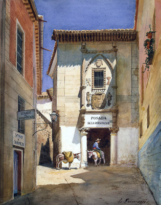Luigi Premazzi. Area Spanish town