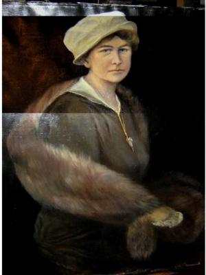 "Igor Rostislav Aleev Igor. ""Lyudmila Alexandrovna Aleeva"" (Petrograd 1915)"