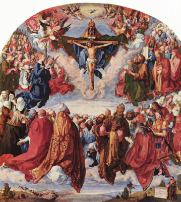 Albrecht Durer. The feast of all saints