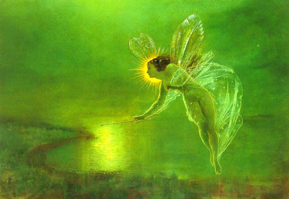 John Atkinson Grimshaw. The spirit of the night