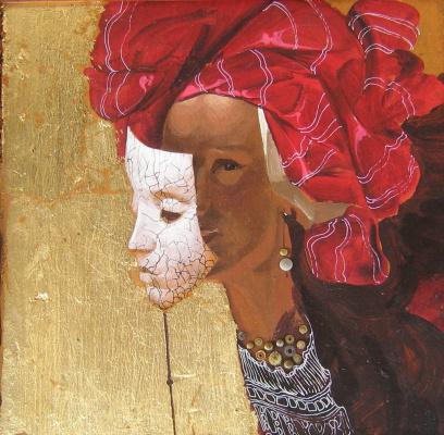 Roman Alexandrovich Bellanin. Girl in turban